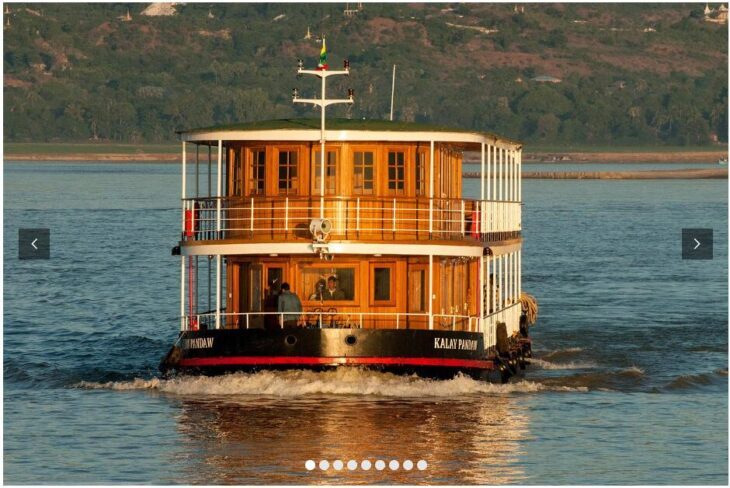 Burma By Ship - In George Orwell's Footsteps