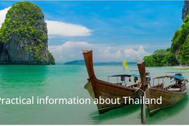 Practical information about Thailand