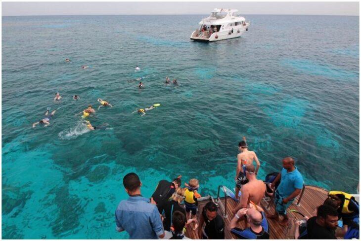 Snorkeling tour off El Gouna's coast
